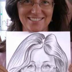 portré karikatúra